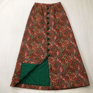 Handmade Vintage Maxi boho Quilted Skirt